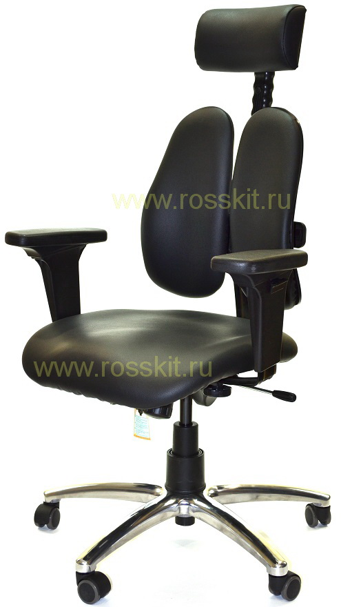 DUOREST LEADERS DD-7500G BLACK l (черная экокожа)